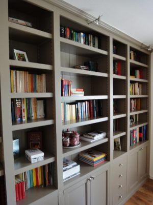 Maatwerk boekenkasten boekenwanden kastenwand my house amsterdam - Eigentijdse boekenkasten ...
