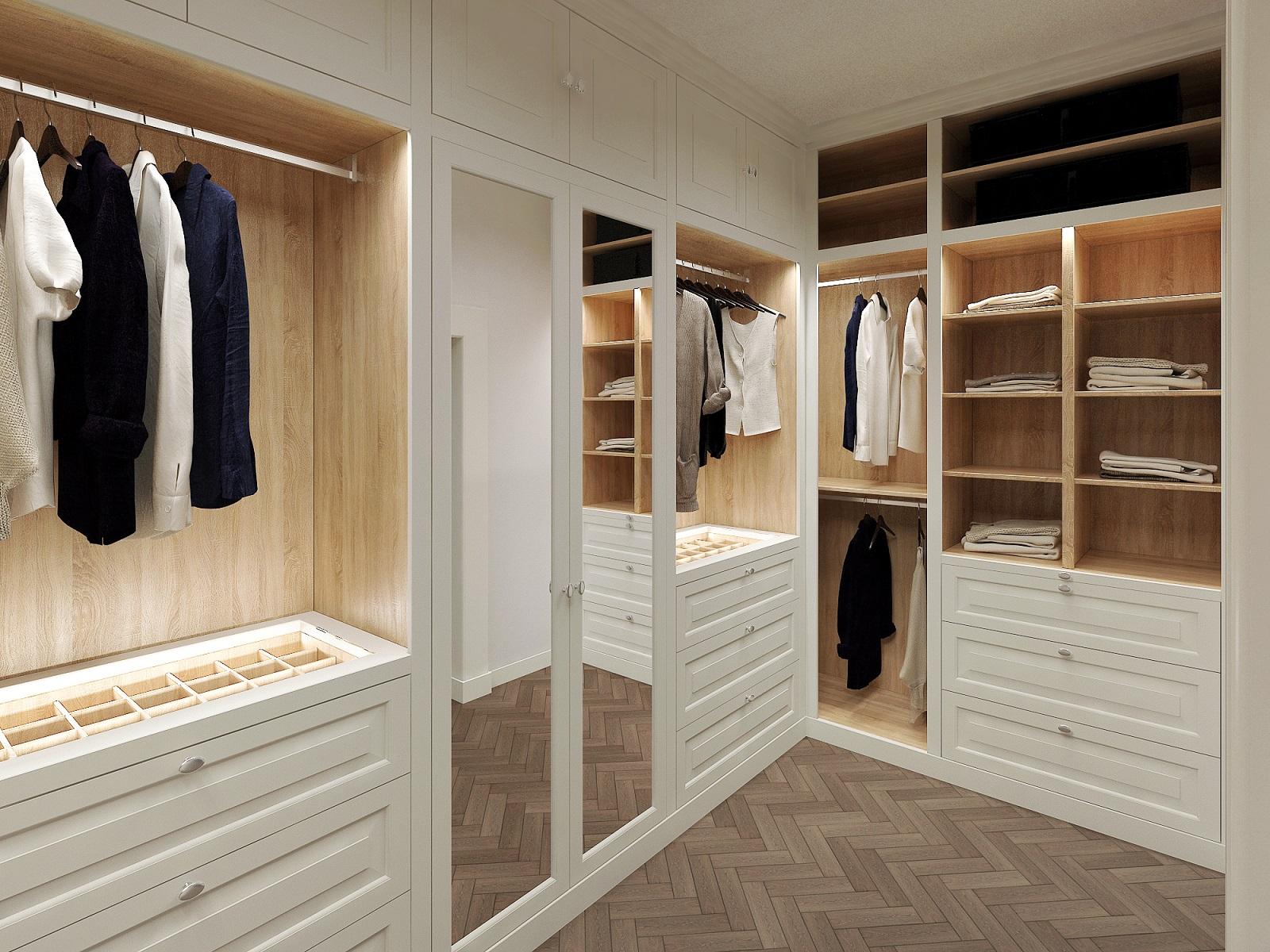 Wardrobes Walkin Closet Designed Cabinets Amsterdam
