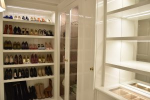 Luxury interirors wardrobe